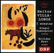 Heitor Villa-Lobos: 3 sonatas