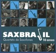 Quarteto de saxofones SaxBrasil - 10 anos
